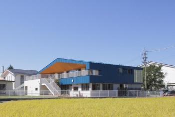 長野市稲里町に『下氷鉋保育園』が完成しました。