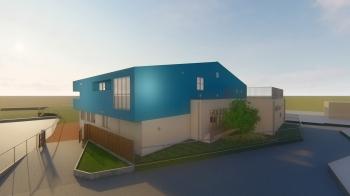 長野市稲里町に『下氷鉋保育園建替工事』が着工になりました。