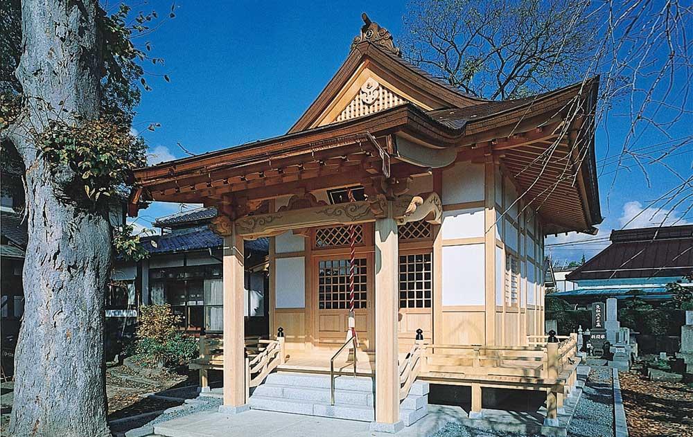 御幣川薬師堂