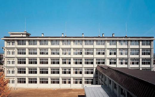 篠ノ井高等学校混合教室棟