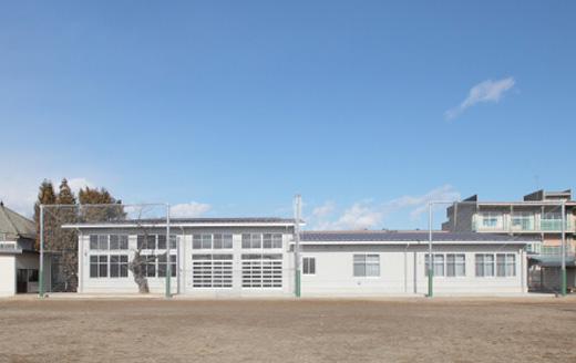 下氷鉋小学校特別教室棟