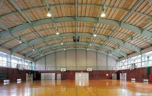 須坂東高等学校耐震改修