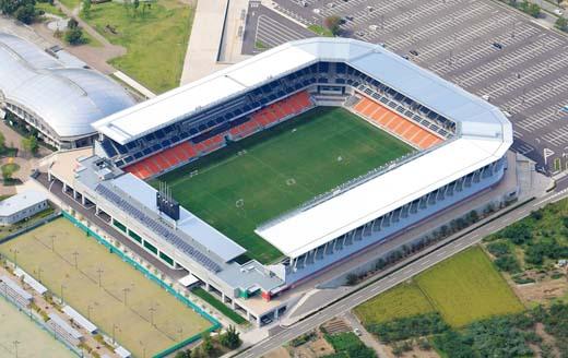 南長野運動公園総合球技場(長野Uスタジアム)